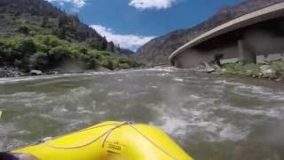 Colorado river rafting - Shoshone rapids