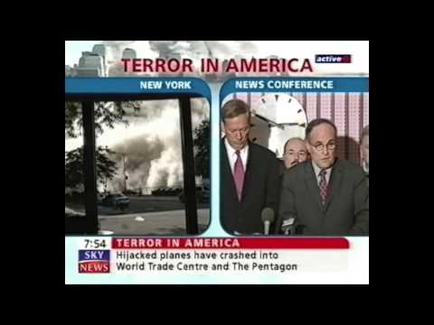 September 11 2001 Attacks - Sky News UK - 7.31pm GMT (14:31 EST)