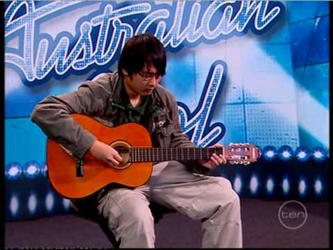 Australian idol - Best Guitar solo,, EVER!! Vinh Bui #1