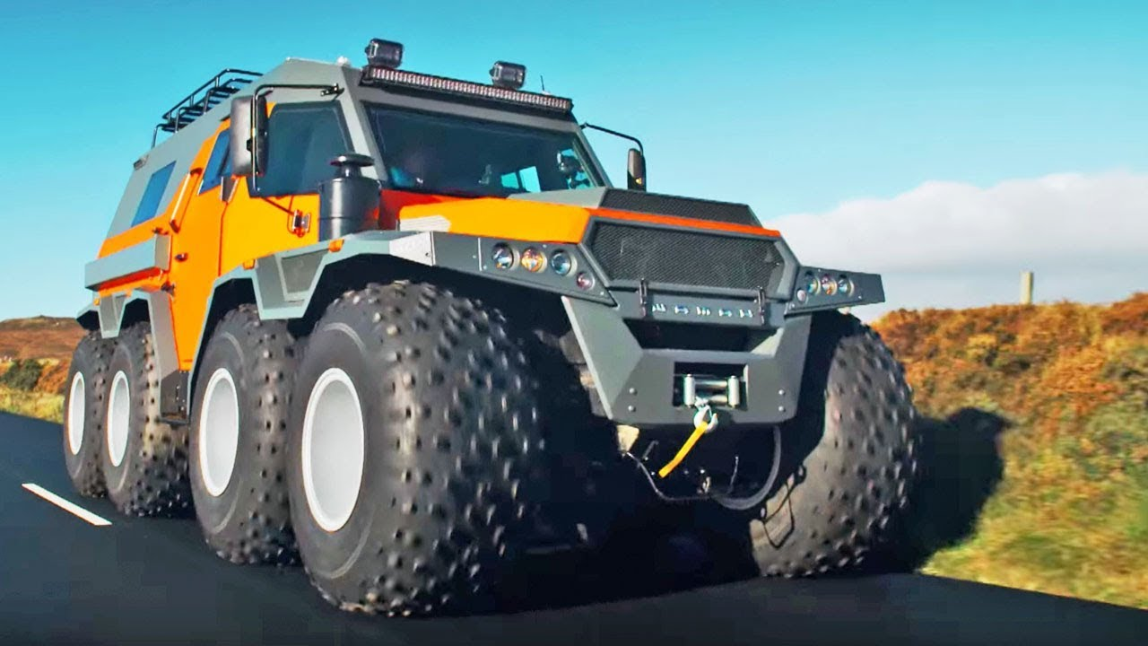 Military Jeeps For Sale >> The HUGE Avtoros Shaman 8x8 | Top Gear Series 24 | BBC - YouTube
