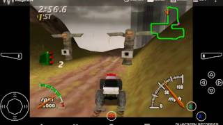 Monster Truck Madness 64 part 24 Nitemare Death Trap in the rain