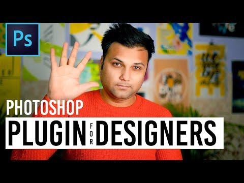 Five Photoshop Plugins For Graphic Designers - #10BajeWalaIdea