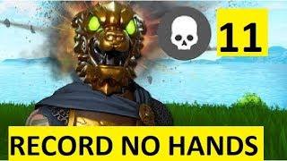 11 KILL W/ NO HANDS RECORD