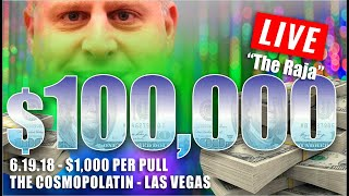 Скачать BIGGEST HIGH LIMIT SLOT PLAY On YOUTUBE 100 000 At 1000 Spin FILMED LIVE At The Cosmo