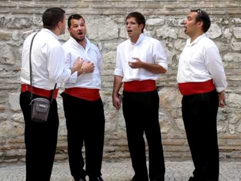 "Sights and Sounds from Europe #4--""Quartet in Diocletian's Palace (AD 305)"""