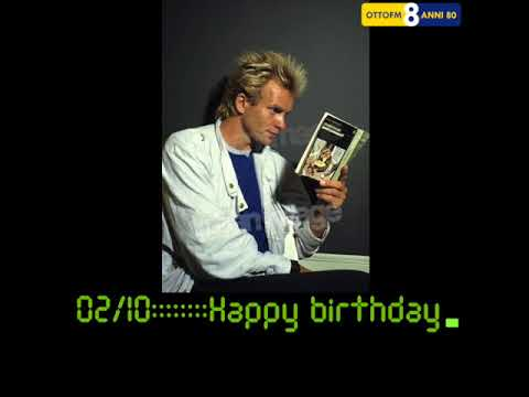 0210happy Birthday Sting Youtube