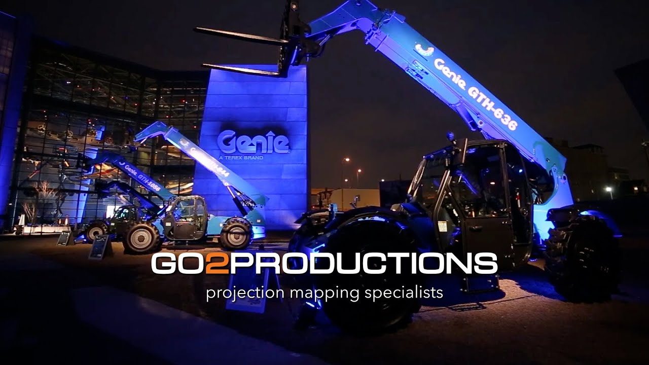 PROJECTION MAPPING TRS2015 - GENIE - New Orleans