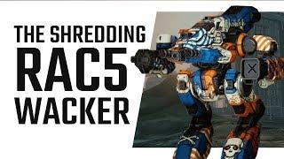 Neverending stream of Bullets! RAC5 Bushwacker - Mechwarrior Online The Daily Dose #301