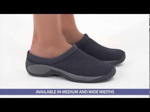 83a5692cda1 Merrell Encore Breeze 2 Clogs at FootSmart - YouTube