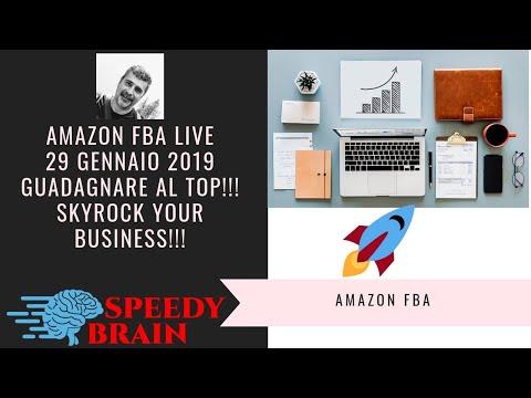 AMAZON FBA ITALIA LIVE Q&A SKYROCK YOUR BUSINESS!! CORSO AMAZON FBA ITALIA BUSINESS MODEL TUTORIAL thumbnail