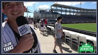 Talkin Yanks Goes Ballhawking at Yankees Spring Training