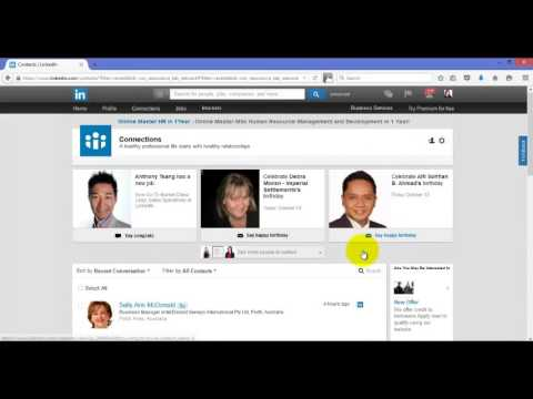 How to delete or remove someone or a connection from your LinkedIn network 2015