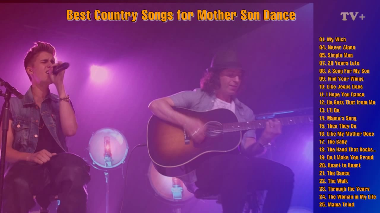 The Best Country Songs For Mother Son Dance Vol 01 Youtube