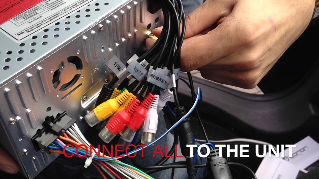 medium resolution of installation guide for eonon car dvd gps d5156 opel vauxhall