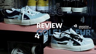 6f6a9aadd2f307 Review Converse One Star GOLF le FLEUR  SS19 Industrial Pack Two-Tone
