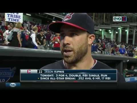 Jason Kipnis on hitting better against lefties and Cleveland Indians' win over Chicago