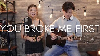 Download Mp3 You Broke Me First Tate McRae Cover Ft Renee Foy