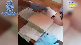 La Policía Nacional desmantela un laboratorio de cocaína, y arresta a  un clan familiar