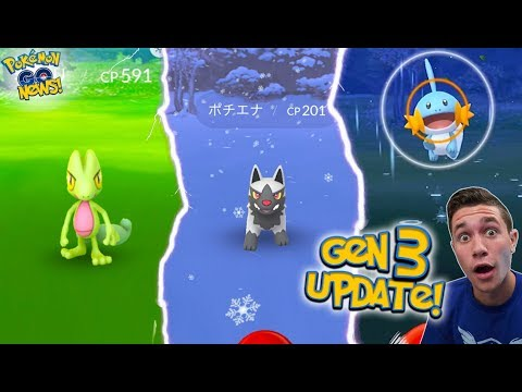 THE GENERATION 3 UPDATE IN POK pokemon go
