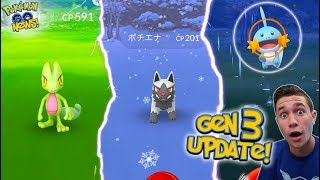 THE GENERATION 3 UPDATE IN POKÉMON GO! ( Generation 3 Gameplay )