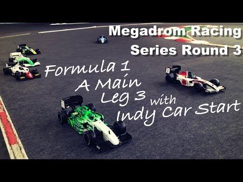 Formula 1 RC Racing - Indy Car Start - Leg 3 - Megadrom Racing Series Round 3