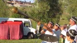 длинные трубы литуус на Спасской ярмарке г.Елабуга 4 августа 2012