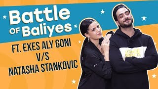 Exes Aly Goni and Natasha Stankovic challenge each other for a dance battle   Battle of Baliyes