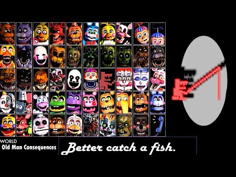 FINAL Five Nights at Freddy's 6 ULTIMATE EXTRAS (All Animatronics)