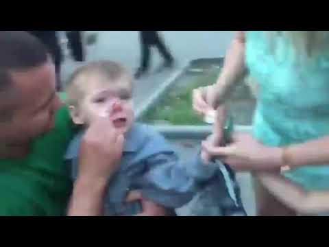 КОПы сбили ребенка на переходе!!!! ХАРЬКОВ 26.07.19