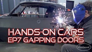 How To Gap Car Doors + SEMA on Hands-On Cars 7 - Web TV Series from Eastwood