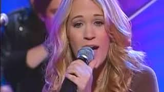 Carrie Underwood - Some Hearts (Today Show 2005)