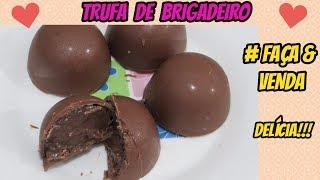 Trufa de Brigadeiro - Recheio para Trufas, Bolos e Ovos de Páscoa