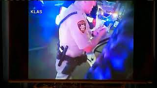 Las Vegas police show new body cam footage of Michael Bennett detainment & Interactions