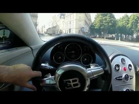 Driving Bugatti Veyron Through Paris (1.2M)