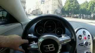 Driving Bugatti Veyron Through Paris (1.2M)