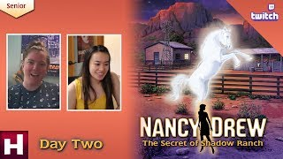 Nancy Drew: The Secret of Shadow Ranch SR [Day Two: Twitch] | HeR Interactive