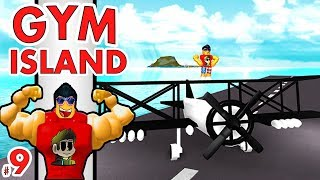 FLYING PLANES in Roblox!! | Gym Island #9