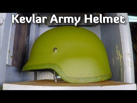 Thumbnail: Kevlar Army Helmet VS Hydraulic Press (Army Item Special)