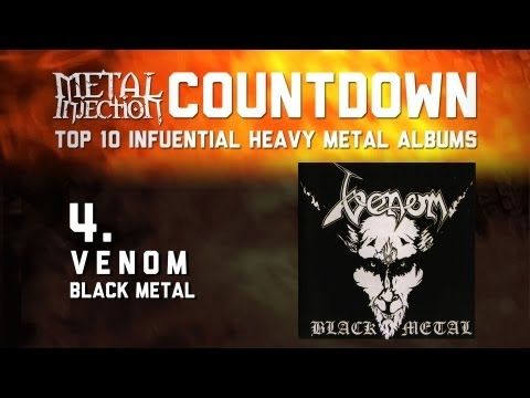 4.VENOM Black Metal - Top 10 Influential Heavy Metal Albums Metal Injection
