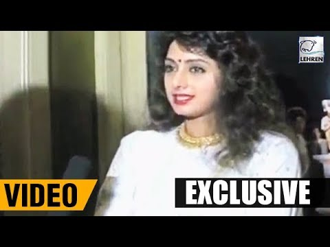 Sridevi's Exclusive Interview On Surgery Injection Treatments
