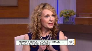 Transitioning from mommy track to career track