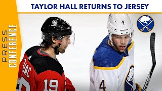 Taylor Hall Returns To New Jersey For First Game Since Leaving Devils