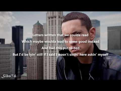 Eminem Ft. X Ambassadors-Bad Husband(Lyrics)-REVIVAL
