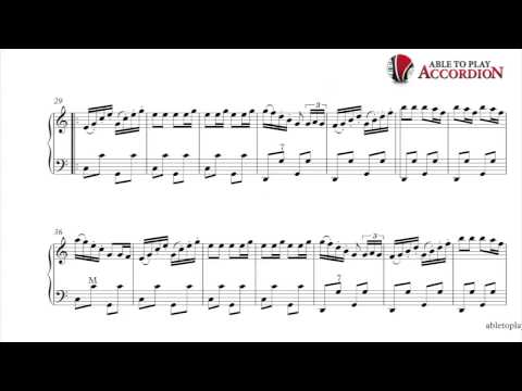Accordion Sheet Music: Clarinet Polka