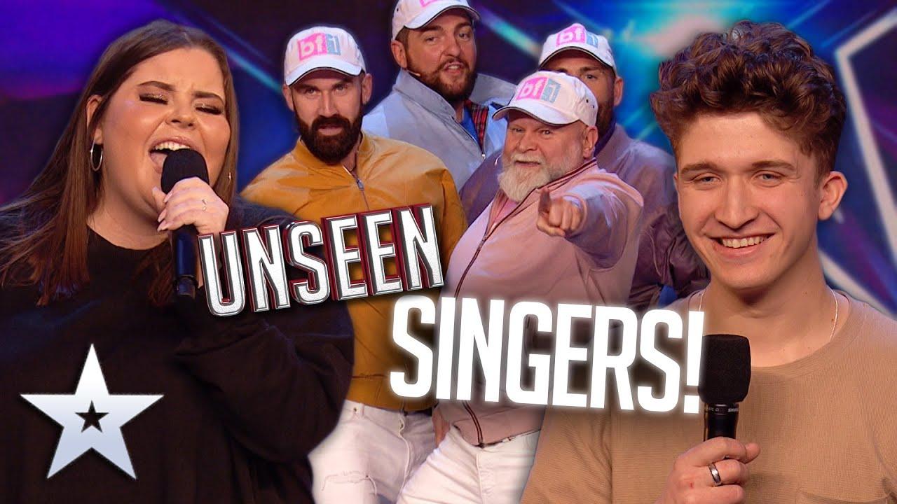 UNSEEN SINGERS! | Britain's Got Talent