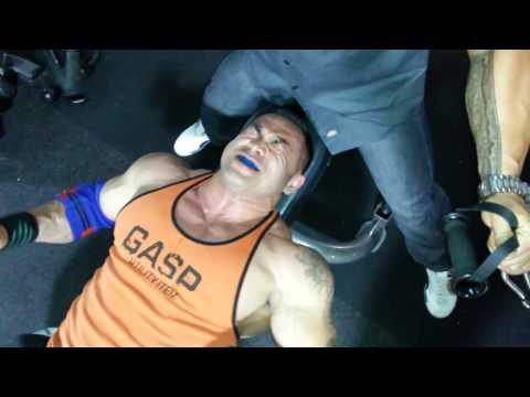Training Hidetada Yamagishi! - Chest and Triceps