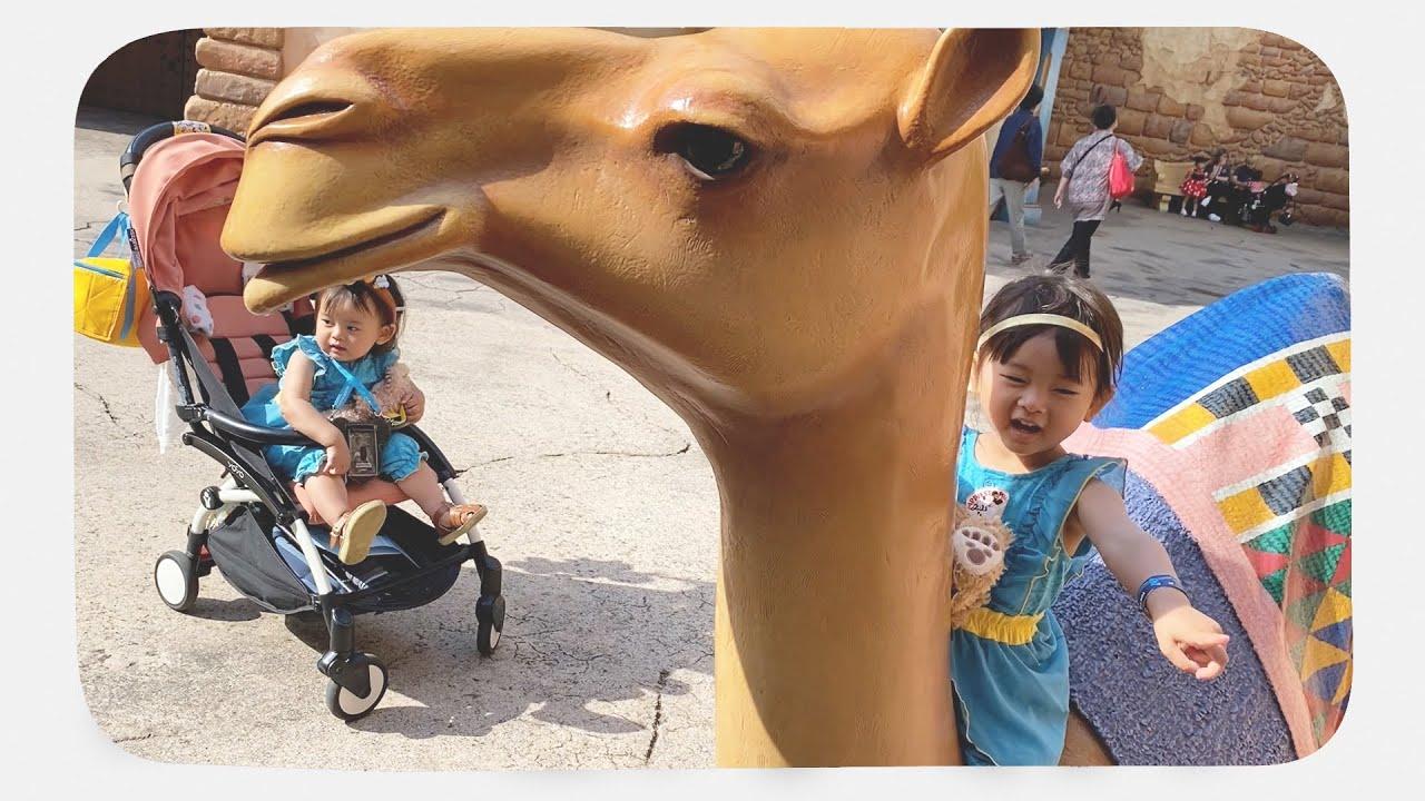 ラクダの声のカラクリを瞬時に見抜く3歳児【ディズニーシー】