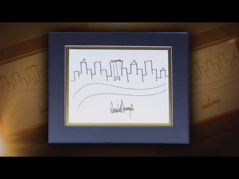 President Trump's Sketch of New York City Makes Trump Tower the Largest Building