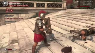 Ryse son of rome: crazy gameplay clips