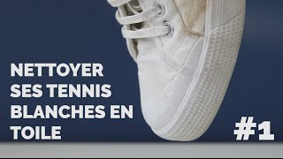 Comment nettoyer ses baskets blanches ?